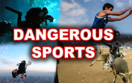 World's 5 Most Dangerous Sports